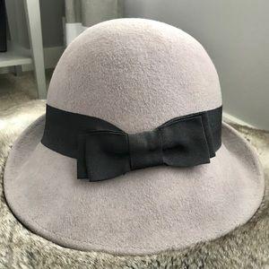 Pins & Needles UO asymmetrical Cloche Hat 🎩